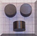 D15x10 mm. Ferrit korong mágnes