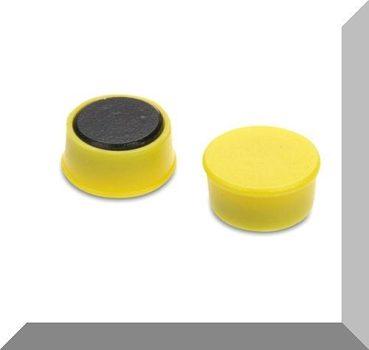 D16x7 Ferrit betétes táblamágnes (sárga)
