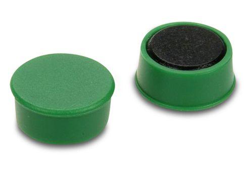 D16x7 Ferrit betétes táblamágnes (zöld)