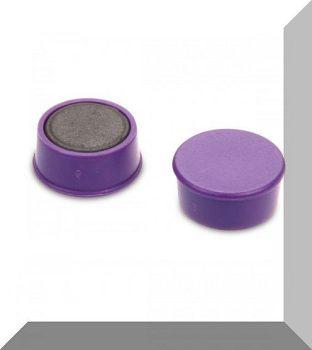 D16x7 Ferrit betétes táblamágnes (lila)