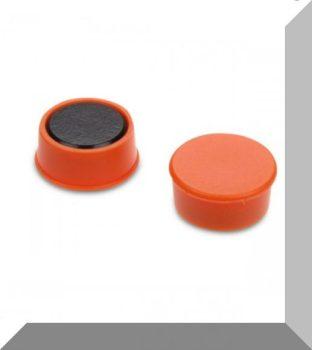 D16x7 Ferrit betétes táblamágnes (narancs)
