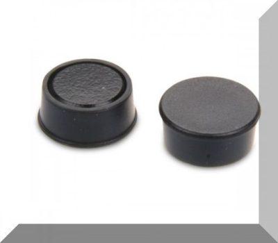 D16x7 Ferrit betétes táblamágnes (fekete)
