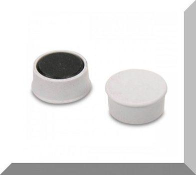 D16x7 Ferrit betétes táblamágnes (fehér)