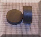 D20x5 mm. Ferrit korong mágnes