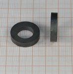 D23/d12_5x5 mm. Ferrit gyűrű mágnes