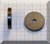 D25/d4,1x4 mm. Ferrit gyűrű mágnes