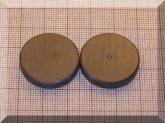 D25x5 mm. Ferrit korong mágnes