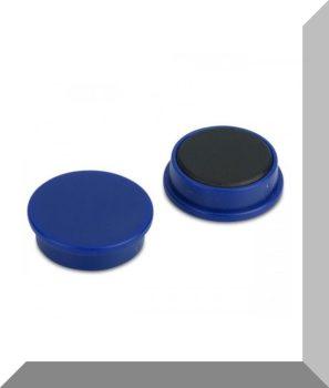 D25x8 Ferrit betétes táblamágnes (kék)