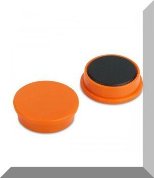 D25x8 Ferrit betétes táblamágnes (narancssárga)