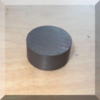 D27,8x13 mm. Ferrit korong mágnes