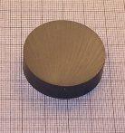 D36x10 mm. Ferrit korong mágnes