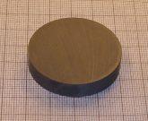 D40x8 mm. Ferrit korong mágnes