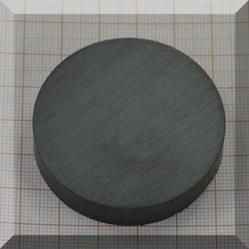 D50x10 mm. Ferrit korong mágnes