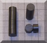 D5,3x3 mm. Ferrit korong mágnes