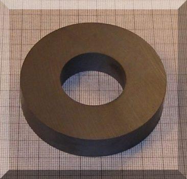 D72/d32x15 mm. Ferrit gyűrű mágnes