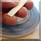 Mágnes fólia 10mm. széles (ár/fm.) fehér