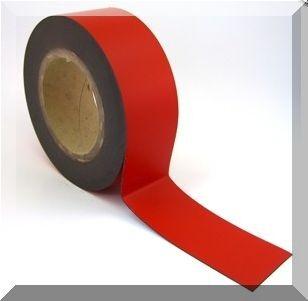 Mágnes fólia 15mm. széles (ár/fm.) Piros