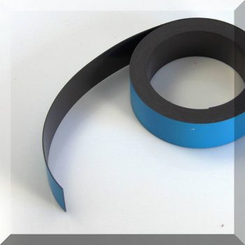 Mágnes fólia 30mm. széles (ár / fm.) Kék