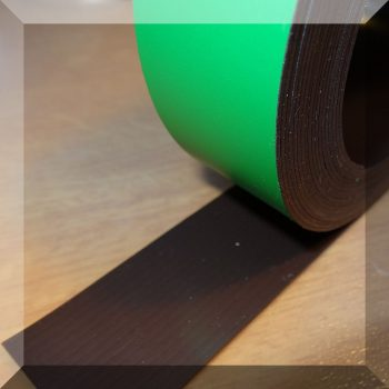 Mágnes fólia 30mm. széles (ár / fm.) Zöld