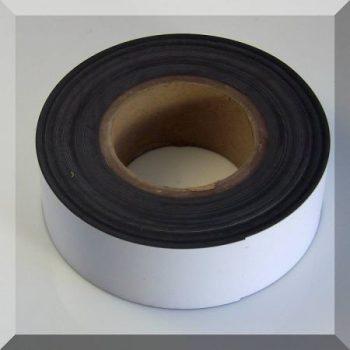 Mágnes fólia 30mm. széles (ár / fm.) Fehér