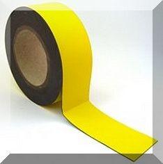 Mágnes fólia 30mm. széles (ár / fm.) Sárga
