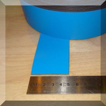 Mágnes fólia 50mm. széles (ár/fm.) Kék