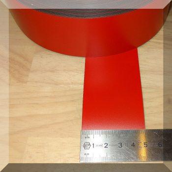 Mágnes fólia 50mm. széles (ár/fm.) Piros