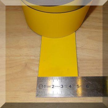 Mágnes fólia 50mm. széles (ár/fm.) Sárga