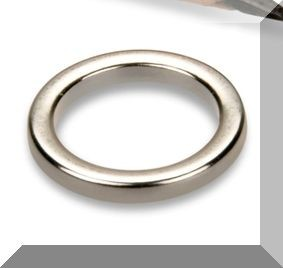 D12/d9x1,5 mm. N45 NdFeN gyűrű mágnes
