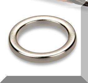D13/d9x1 mm. N40 NdFeN gyűrű mágnes