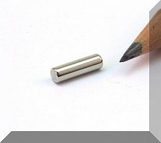 D3x10 N45 Hengeres NdFeB mágnes