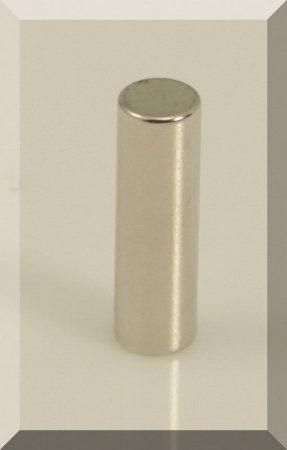 D6x20 mm. N42 Neodym henger mágnes