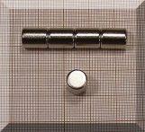D8x10 Henger alakú NdFeB mágnes N38