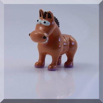 """Neodym """"Ló"""" hűtőmágnes / Jegyzettartó (2 fél)"""
