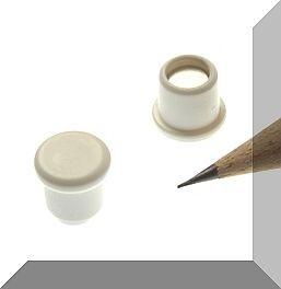 D10x8 mm. Pici Irodamágnes Neodym betéttel. fehér