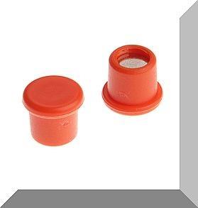 D10x8 mm. Pici Irodamágnes Neodym betéttel. Narancs