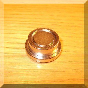 D22x9 mm.Igényes fém irodamágnes POT