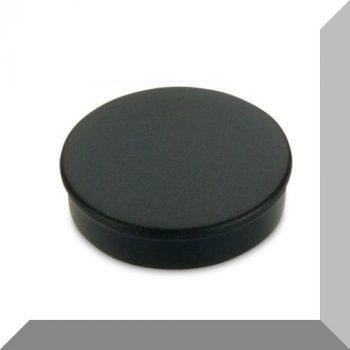 D30x8 mm. Nagy irodamágnes Ferrit betéttel - Fekete
