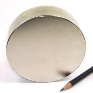 D100x30 mm. Neodym korong N45 (300kg.)