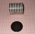 D30x2 mm. Neodym mágnes korong N38