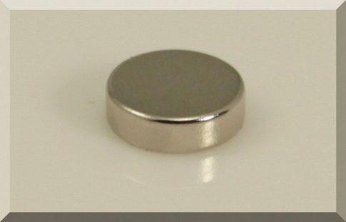 D10x3 mm.Neodym korong mágnes N38