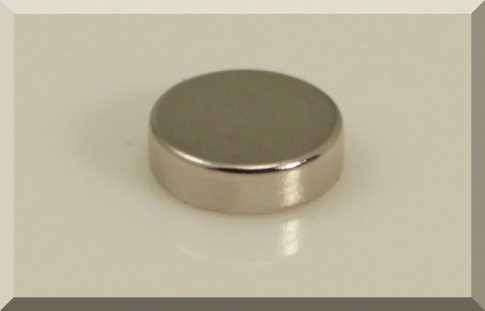 D10x3 mm.Neodym korong mágnes N50