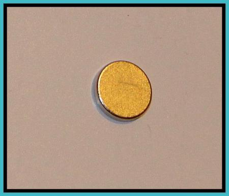D12,5x2 mm korong neodym mágnes