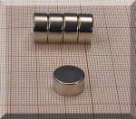 D12x6 mm. Neodym korong mágnes N45
