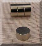 D15x8 N38 Neodym korong mágnes