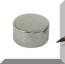 D20x10 mm. Neodym korong mágnes N50
