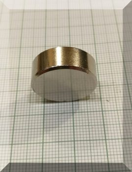 D21x8 mm. N50 Neodym korong mágnes