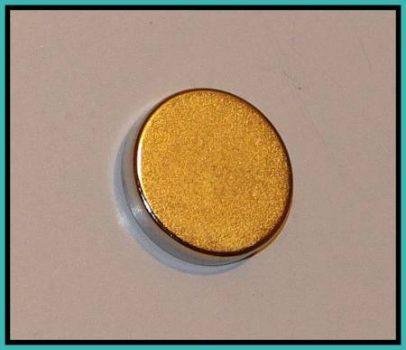 D25x5mm N50 NdFeB korong mágnes