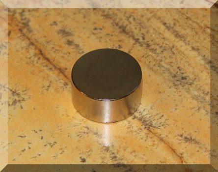 D30x15mm. N42 Neodym korong mágnes