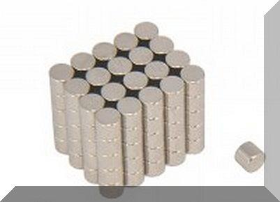 D3,5x3 mm. NdFeB korong mágnes N38